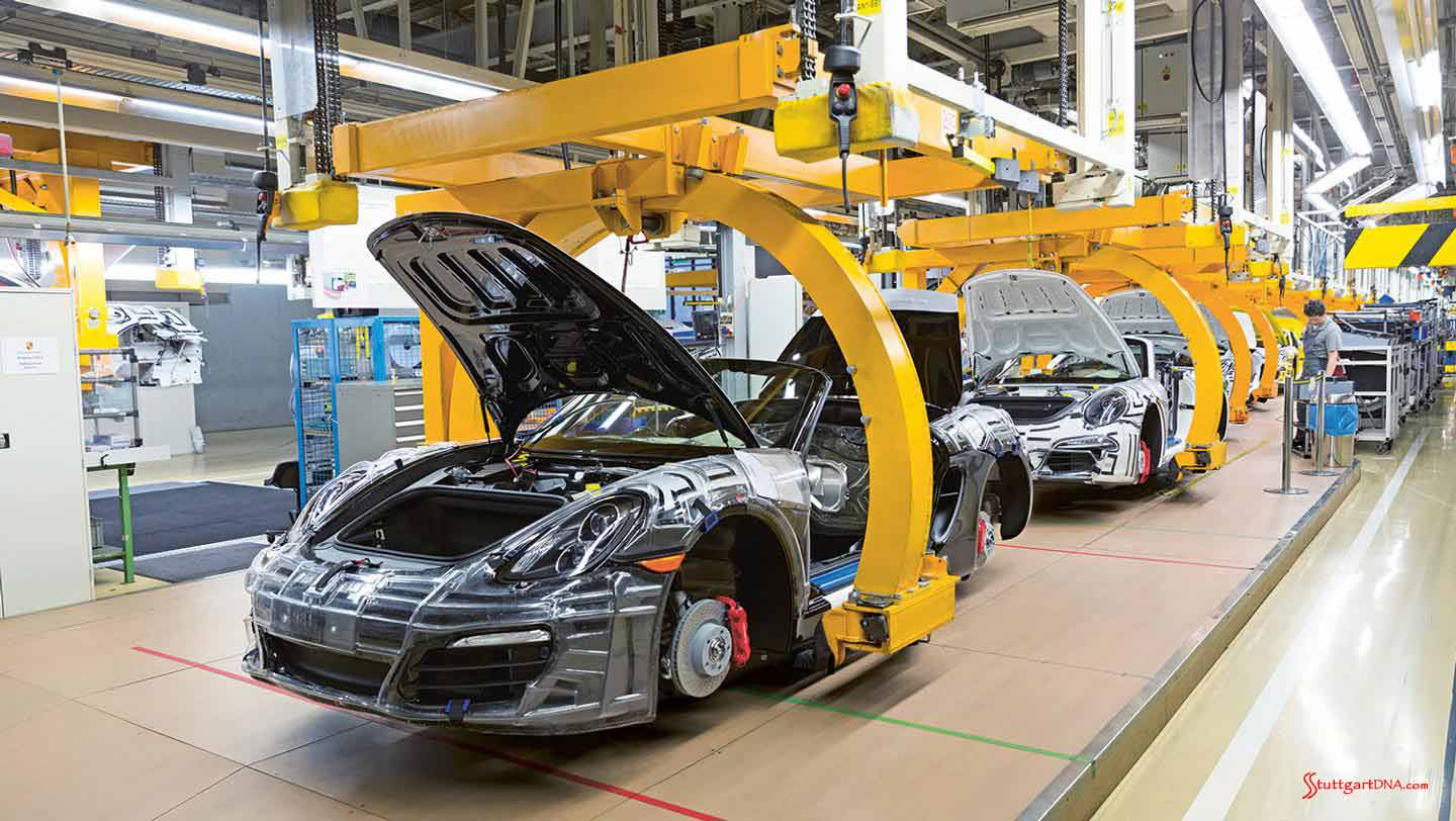 Porsche makes 2015 factory investments | StuttgartDNA