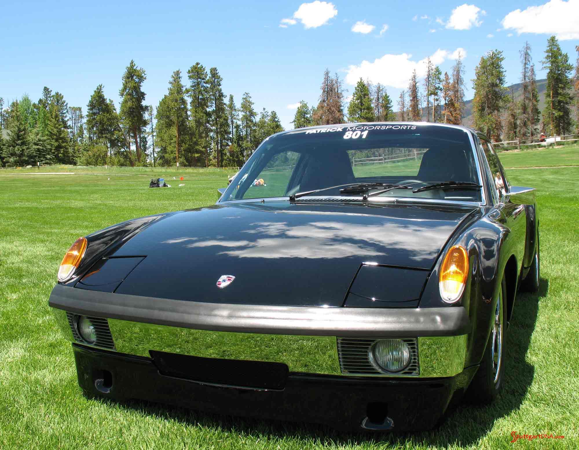 Porsche Clubs: 914 front-left at Colorado 54 Porsche Parade, 2009. Credit: StuttgartDNA