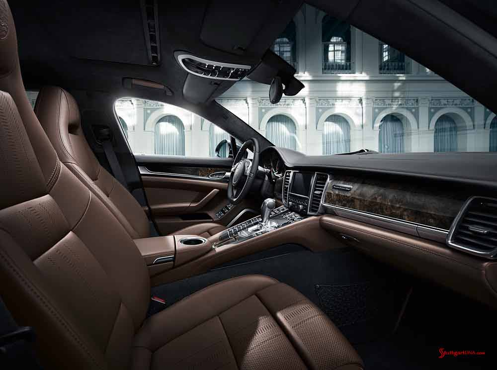 Porsche Certified Pre-Owned (CPO) Program: Panamera Exclusive interior. Credit: Porsche AG