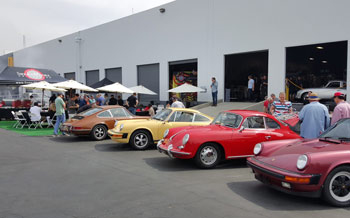 2017 Porsche L.A. Literature, Toy and Memorabilia Meet Weekend: The Sierra Madre Collection gathering. Credit: Sierra Madre Collection